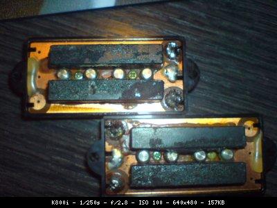 Schema Collegamento Humbucker Di Marzio : Bassi&co. :: precision pickup 1980